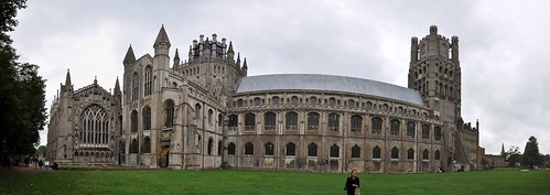 Panoramic Ely Cathedral