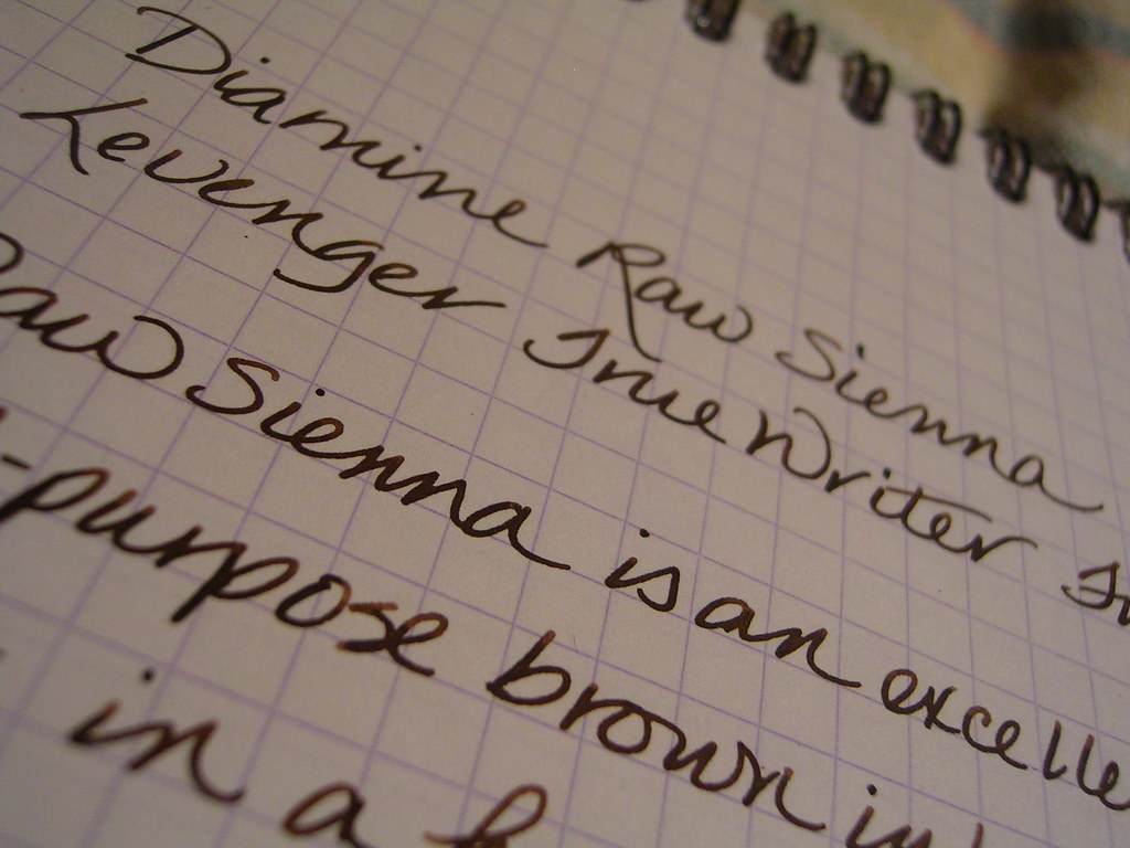 Diamine Raw Sienna Ink