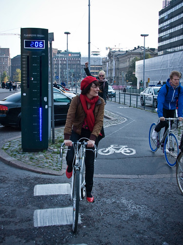 Helsinki Bike Counter Day