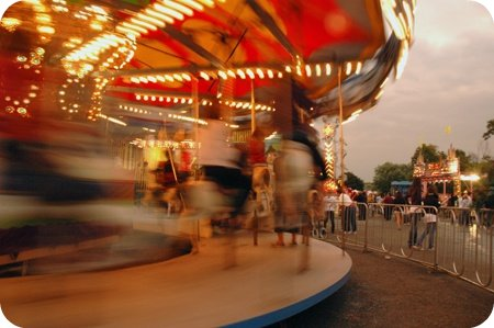 Merry-go-round, Carp Fair 2010
