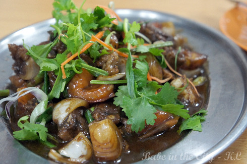 Stir-fried Siew Yuk