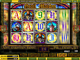 Grail Maiden slot game online review