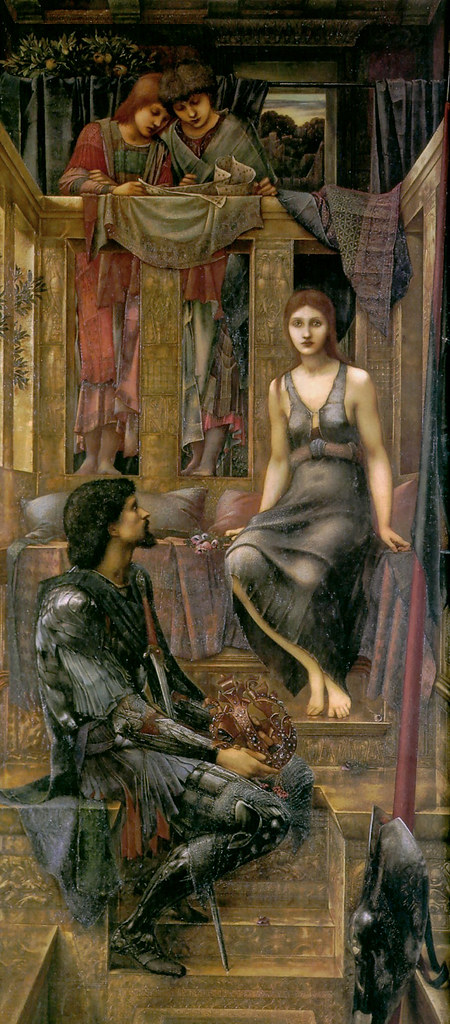 King Cophetua and the Beggar Maid 1883 Edward Burne-Jones