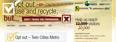 Don't Trash The Phonebook