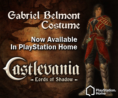 PlayStation Home: Castlevania Costume