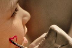Sweetheart (Wintry_06) Tags: make up children kid nikon heart coeur peinture 06 enfant maquillage wintry d5000 wintry06