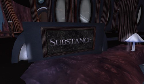 Substance signage at Hollow Earth Barony