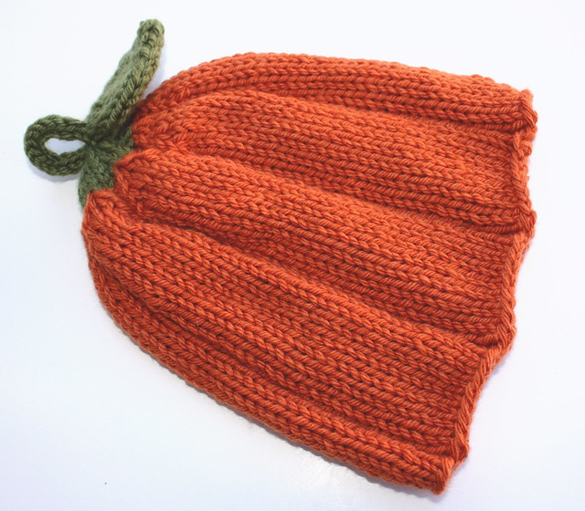 Knitting 3 Stitch I Cord Bind Off : Cherished Hearth Knits: Punkin Head
