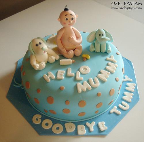Baby Boy Cake