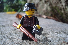 ww2 german SS guard (Lakuda's customs and surplus) Tags: soldier war lego german ww2 minifig custom