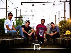 """ THE "" (kareem_A) Tags: train photoshoot band rail finepix fujifilm hs10 hs11"