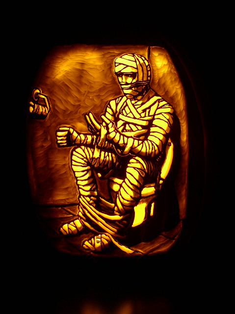 5040381893 44d4b8b881 z 65 Creative Pumpkin Carving Designs