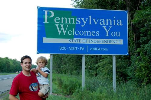 Pennsylvania Border