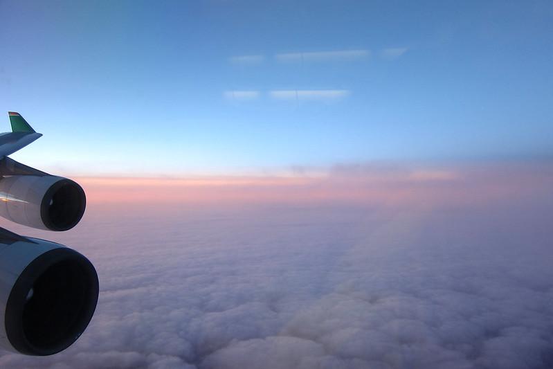 長榮加拿大飛行紀錄