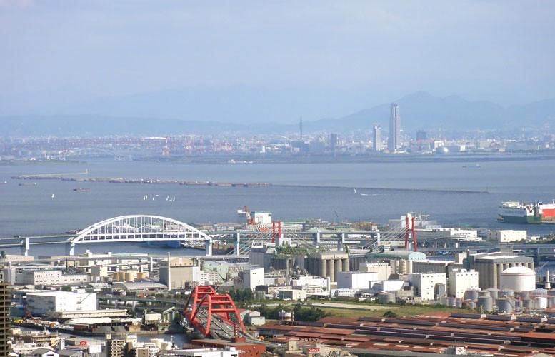 大阪、舞洲、WTCビル