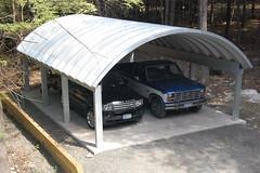 Steel Arch Carport