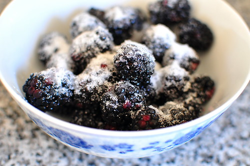 Martha Stewart's Black Berry Cloud Cake