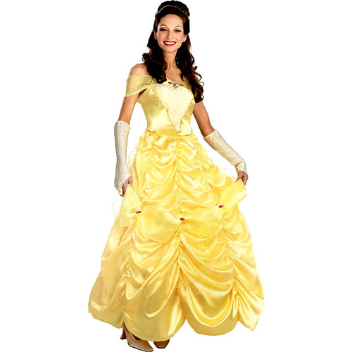 Belle Deluxe (Disney Beauty & the Beast) Adult Costumes