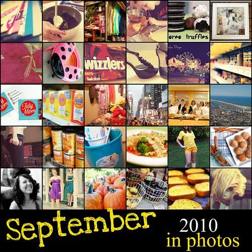 September 2010 365 Mosaic