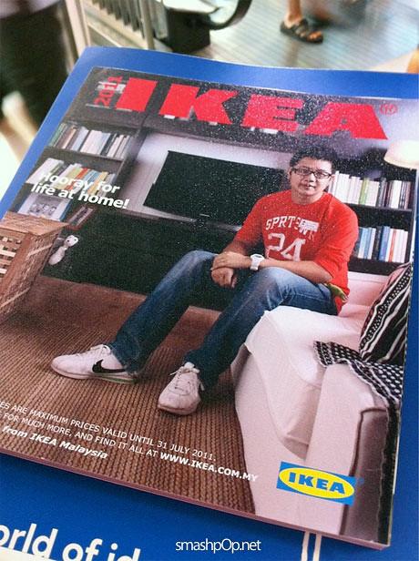 2011 Ikea Catalog i'm on ikea catalogue + i touched the nano + i shot pano