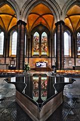 HDR - Salisbury Fountain (J. Arcenas (aka Pip)) Tags: church fountain photoshop nikon cathedral chapel tokina salisbury hdr d90 cs5 1116mm