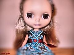 Luna's lilac eyes