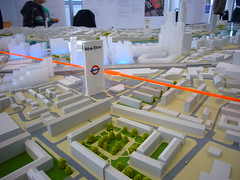 Nine Elms Tube Station (Model) (mark-vauxhall) Tags: flower thames fruit river model market vegetable planning sainsburys newtown battersea development lambeth wandsworth renewal vauxhall sw8 wandsworthroad nineelms northernline regeneration redevelopment usembassy nineelmslane newcoventgardenmarket stgeorgeswharf stgeorgewharf nlx hartingtonroad wilcoxroad ncgma tubeextension northernlineextension vneb opportunityarea oapf nineelmstubestation wyvilestate