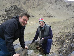 Paul and Sam (jayselley) Tags: mountain asia desert september mongolia range gobi exodus 2010 mongol bayan bichigtkhad mongolianadventure