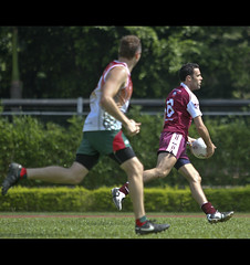 Hong Kong GAA Asian Games 2010 - 13 (DMK.) Tags: ireland asian football games na hong kong gaelic oryx qatar 2010 gaa gealic heirean eirean