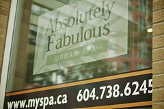 Sunday in Midtown, Vancouver - Absolutely Fabulous spa