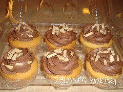Almond Chocolate Cupcakes