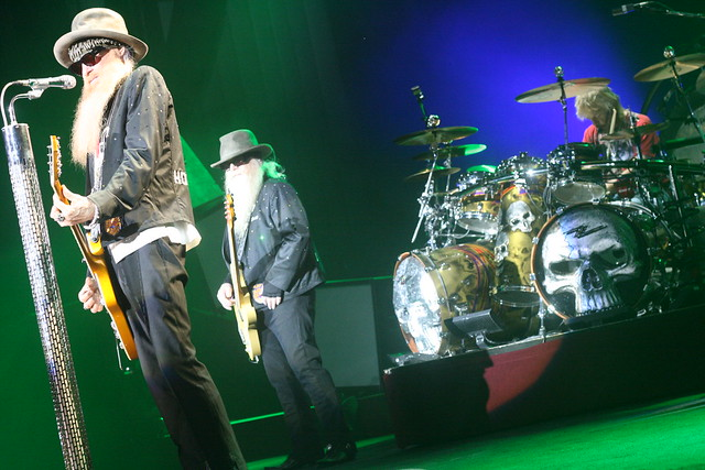 ZZ Top @ Cynthia Woods Mitchell Pavilion