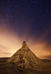 Castildetierra (martin zalba) Tags: night stars landscape star noche paisaje estrellas estrella navarra bardenas arguedas castildetierra