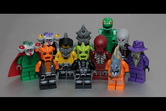 [35/365] Black Hole Gang (pasukaru76) Tags: lego villains sp3 badguys canon100mm spacepolice blackholegang minifig365