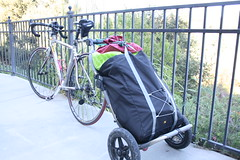 Burley Travoy bike trailer