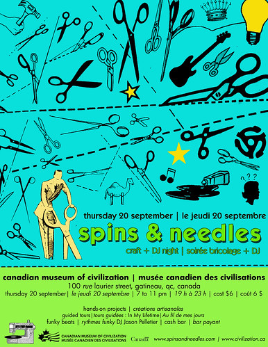 Spins & Needles - September 2007 - Canadian Museum of Civilization