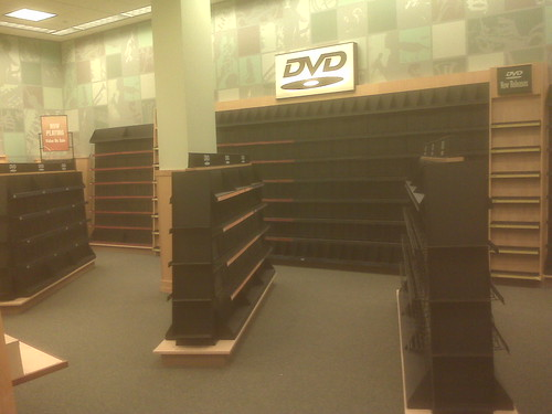 No more DVDs.