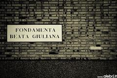 (ALE BRJ) Tags: venice bw ale venezia giuliana beata fondamenta brj wwwalebrjit alebrjit