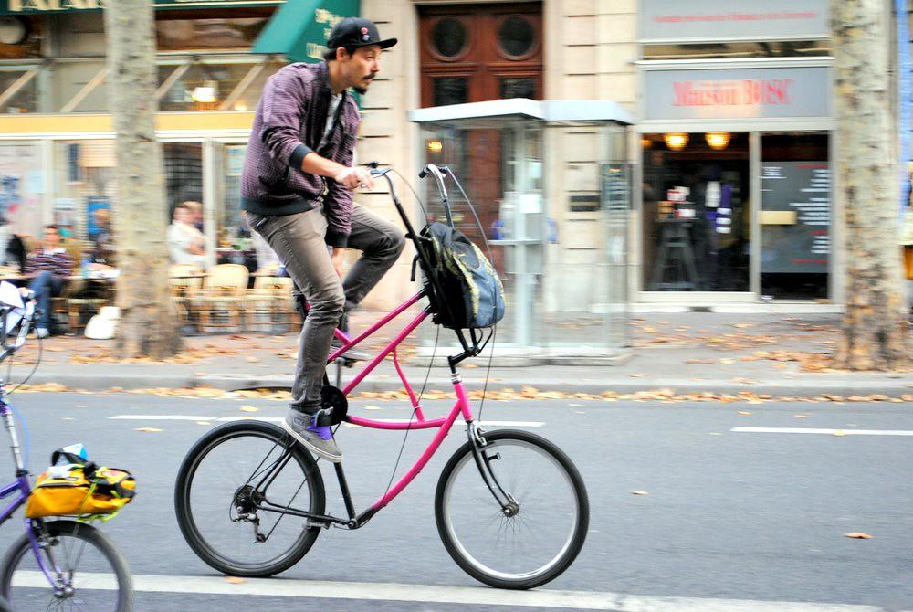 one tall bike