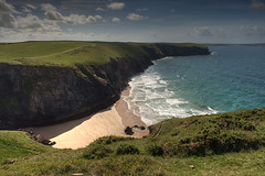 North Cornwall Coast Path at Butterhole Beach (rosyrosie2009) Tags: uk sea england seascape beach water beautiful landscape photography coast nikon rocks flickr cornwall photos explore hdr gettyimages westcountry coastpath photomatix tonemapped nikkor1855mm explored butterhole devonandcornwall d5000 rosiesphotos nikkor1855mmf3556gvr nikond5000 rosiespooner rosyrosie2009 butterholebeach notthcornwall rosemaryspooner rosiespoonerphotography