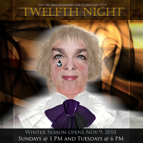 mShakespeare Winter Season - Twelfth Night - Opens Nov 9