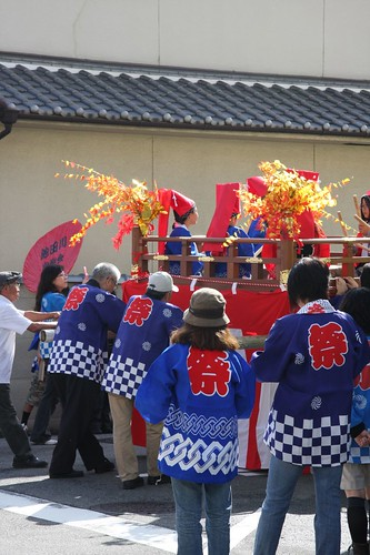 秋祭り An autumn festival