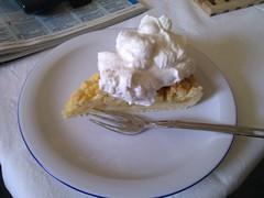 Apfelkuchen mit Zimtsahne
