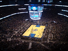 View from our seats! (msnguy81) Tags: basketball florida arena nba orlandomagic centralflorida orlandoflorida inauguralgame 101010 nbabasketball amwaycenter