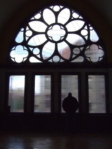 John Fetterman looks down on Library Street (by: Mark Knobil, creative commons license)