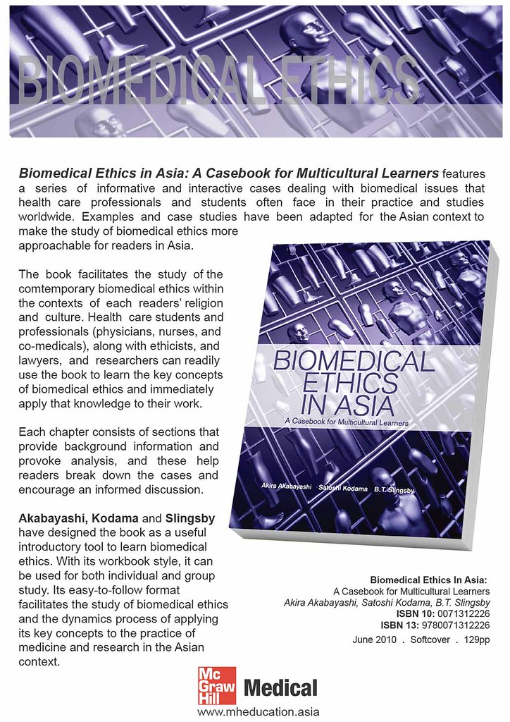 Biomedical Ethics in Asia 1 of 2