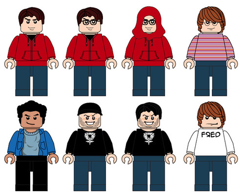 Heroes of Youtube Minifigs Wave 1
