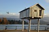 """""""Light Shed"""" (jeslu) Tags: thanksgiving vancouver zeiss 50mm day bc harbour coal lightshed d700"""
