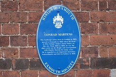 Photo of Conrad Martens blue plaque
