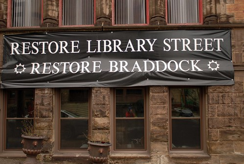 Restore Library Street, Restore Braddock (by: Ryan Thompson, creative commons license)